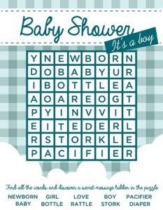baby shower games for you