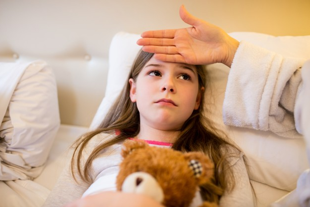 How do you know if your child has a weak immune system?